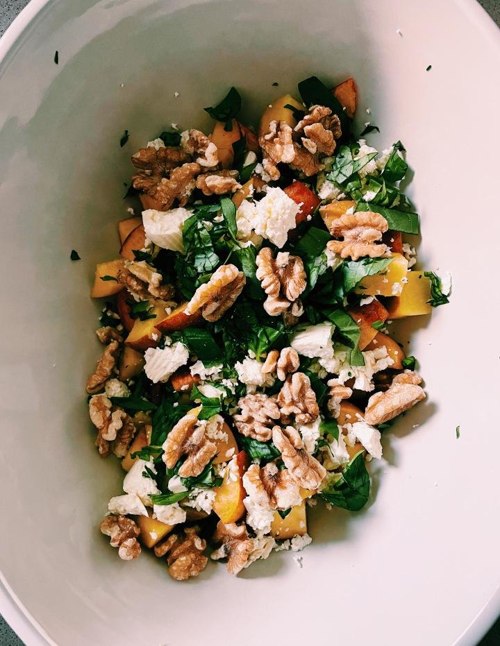 Stonefruit Summer Salad